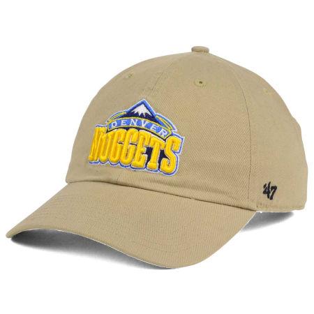 Denver Nuggets '47 NBA Khaki '47 CLEAN UP Cap