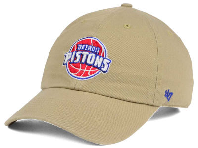 Detroit Pistons '47 NBA Khaki '47 CLEAN UP Cap
