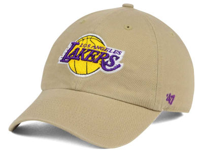 Los Angeles Lakers '47 NBA Khaki '47 CLEAN UP Cap