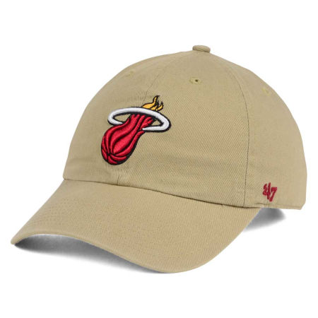 Miami Heat '47 NBA Khaki '47 CLEAN UP Cap