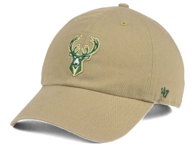 Milwaukee Bucks '47 NBA Khaki '47 CLEAN UP Cap