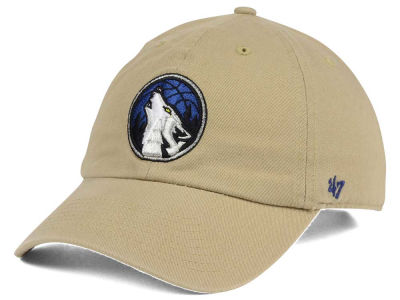 Minnesota Timberwolves '47 NBA Khaki '47 CLEAN UP Cap