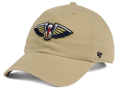 New Orleans Pelicans '47 NBA Khaki '47 CLEAN UP Cap