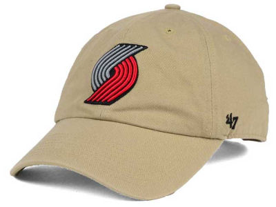 Portland Trail Blazers '47 NBA Khaki '47 CLEAN UP Cap