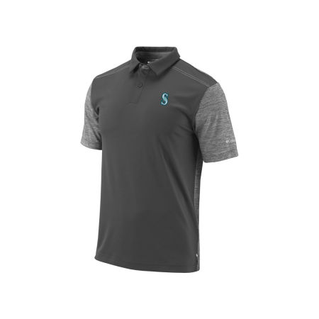 Seattle Mariners MLB Men's Omni-Wick Forged Polo