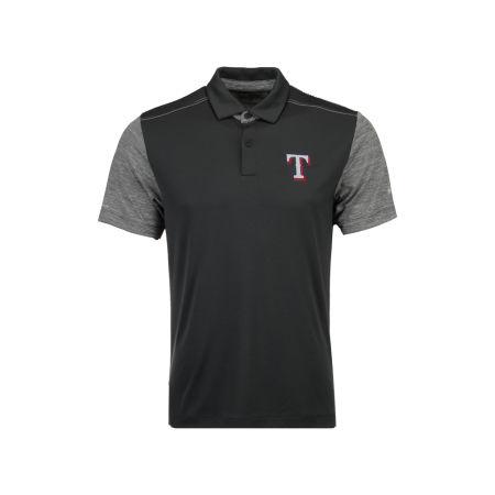 Texas Rangers MLB Men's Omni-Wick Forged Polo