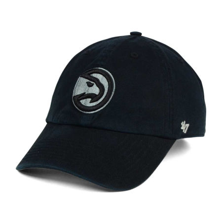 Atlanta Hawks '47 NBA Black Gray '47 CLEAN UP Cap