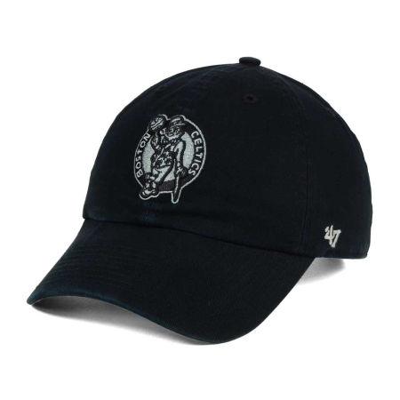 Boston Celtics '47 NBA Black Gray '47 CLEAN UP Cap