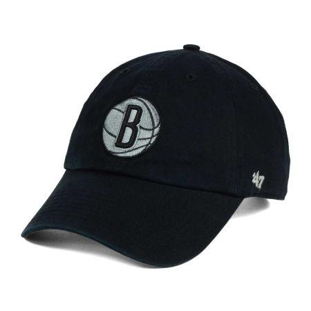Brooklyn Nets '47 NBA Black Gray '47 CLEAN UP Cap