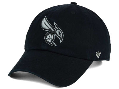 Charlotte Hornets '47 NBA Black Gray '47 CLEAN UP Cap