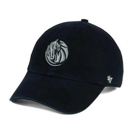 Dallas Mavericks '47 NBA Black Gray '47 CLEAN UP Cap