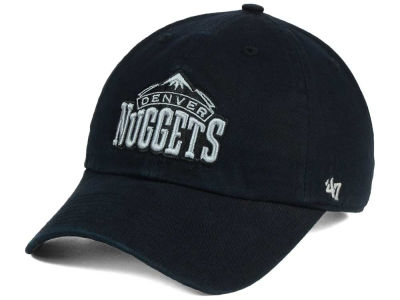 Denver Nuggets '47 NBA Black Gray '47 CLEAN UP Cap
