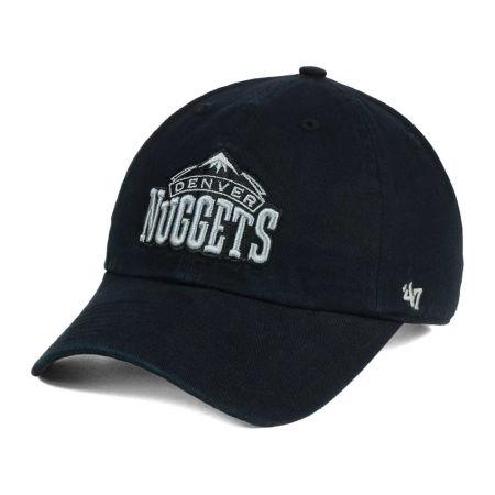 Denver Nuggets '47 NBA Black Gray '47 CLEAN UP Cap