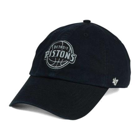 Detroit Pistons '47 NBA Black Gray '47 CLEAN UP Cap
