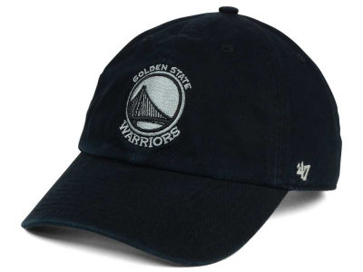 Golden State Warriors '47 NBA Black Gray '47 CLEAN UP Cap