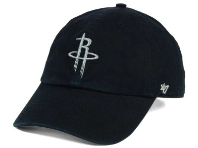Houston Rockets '47 NBA Black Gray '47 CLEAN UP Cap