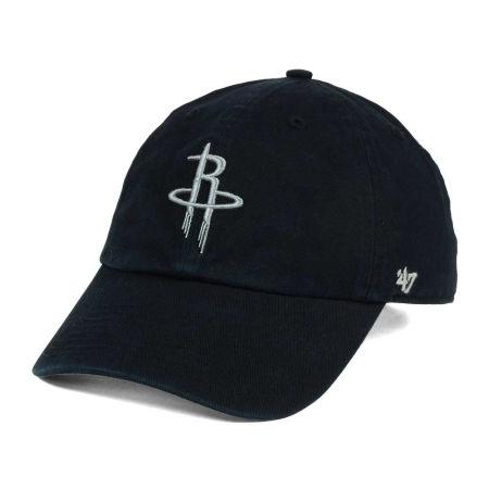 Houston Rockets '47 NBA Black Gray '47 CLEAN UP Cap
