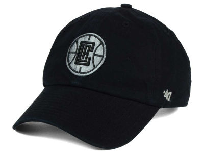 Los Angeles Clippers '47 NBA Black Gray '47 CLEAN UP Cap
