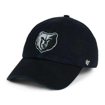 Memphis Grizzlies '47 NBA Black Gray '47 CLEAN UP Cap