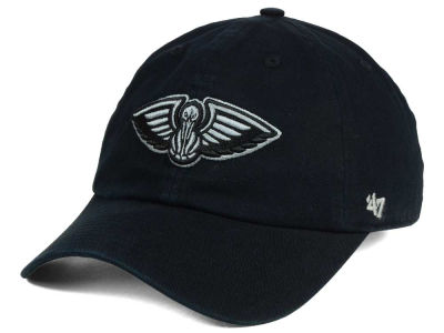 New Orleans Pelicans '47 NBA Black Gray '47 CLEAN UP Cap