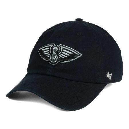 New Orleans Pelicans '47 NBA Black Gray '47 CLEAN UP Cap