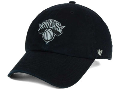 New York Knicks '47 NBA Black Gray '47 CLEAN UP Cap