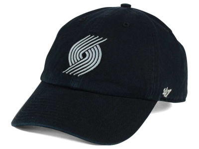 Portland Trail Blazers '47 NBA Black Gray '47 CLEAN UP Cap