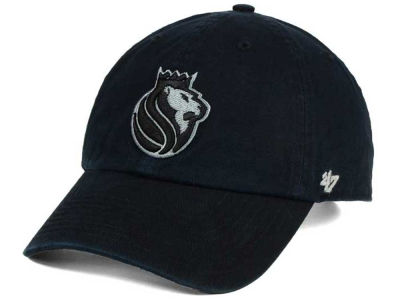 Sacramento Kings '47 NBA Black Gray '47 CLEAN UP Cap