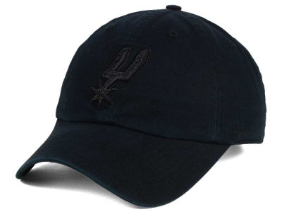 San Antonio Spurs '47 NBA Black Gray '47 CLEAN UP Cap