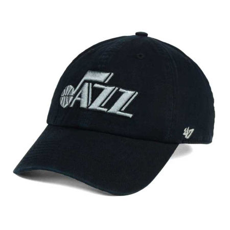 Utah Jazz '47 NBA Black Gray '47 CLEAN UP Cap