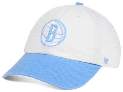 Brooklyn Nets '47 NBA Powder Blue '47 CLEAN UP Cap