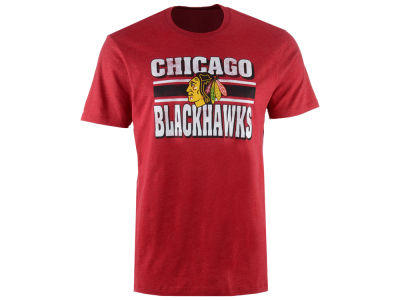 Chicago Blackhawks '47 NHL Men's Stripe Knockaround Club T-Shirt