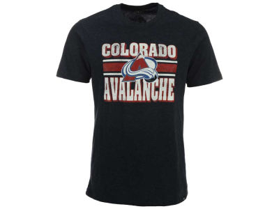 Colorado Avalanche '47 NHL Men's Stripe Knockaround Club T-Shirt