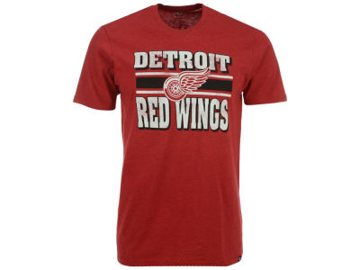 Detroit Red Wings '47 NHL Men's Stripe Knockaround Club T-Shirt