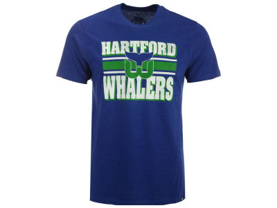 Hartford Whalers '47 NHL Men's Stripe Knockaround Club T-Shirt