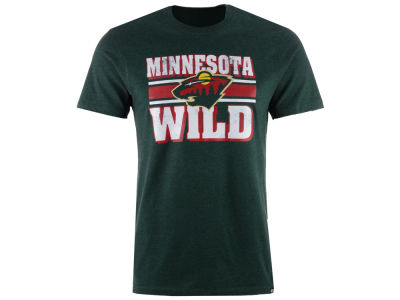 Minnesota Wild '47 NHL Men's Stripe Knockaround Club T-Shirt