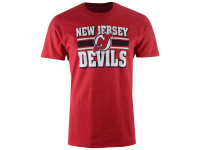 New Jersey Devils '47 NHL Men's Stripe Knockaround Club T-Shirt