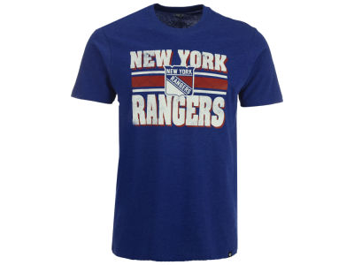 New York Rangers '47 NHL Men's Stripe Knockaround Club T-Shirt