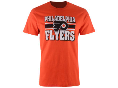 Philadelphia Flyers '47 NHL Men's Stripe Knockaround Club T-Shirt