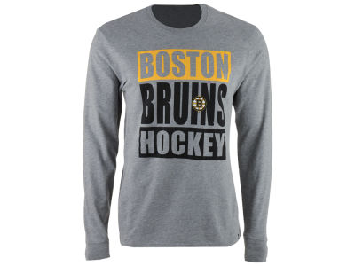 Boston Bruins '47 NHL Men's Stacked Club Long Sleeve T-Shirt