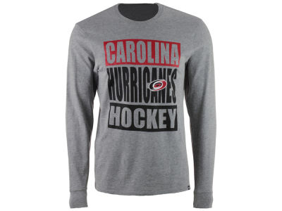 Carolina Hurricanes '47 NHL Men's Stacked Club Long Sleeve T-Shirt
