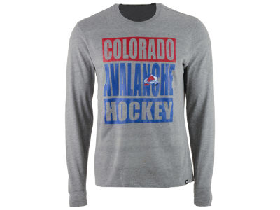 Colorado Avalanche '47 NHL Men's Stacked Club Long Sleeve T-Shirt