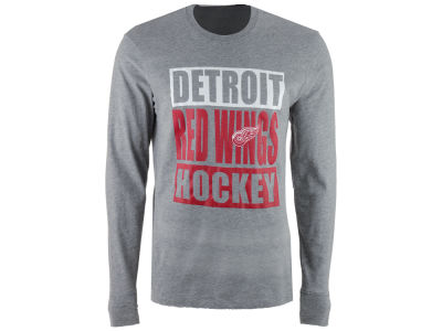 Detroit Red Wings '47 NHL Men's Stacked Club Long Sleeve T-Shirt