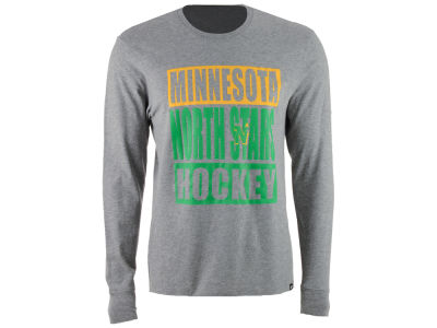 Minnesota North Stars '47 NHL Men's Stacked Club Long Sleeve T-Shirt