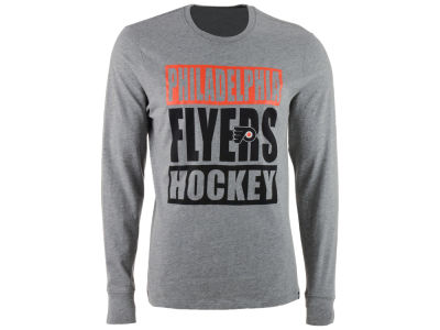 Philadelphia Flyers '47 NHL Men's Stacked Club Long Sleeve T-Shirt