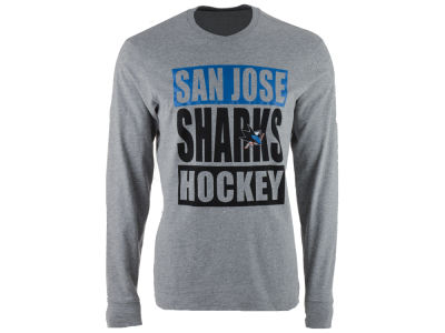San Jose Sharks '47 NHL Men's Stacked Club Long Sleeve T-Shirt