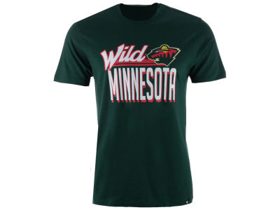 Minnesota Wild '47 NHL Men's Script Splitter T-Shirt
