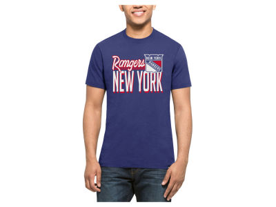New York Rangers '47 NHL Men's Script Splitter T-Shirt