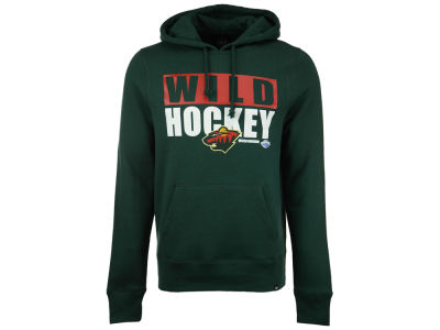 Minnesota Wild '47 NHL Men's Knockaround Headline Pullover Hoodie