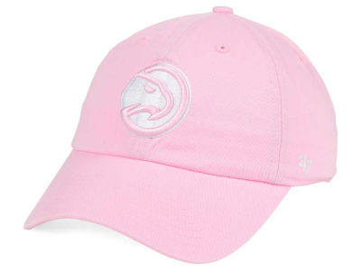 Atlanta Hawks '47 NBA Petal Pink '47 CLEAN UP Cap